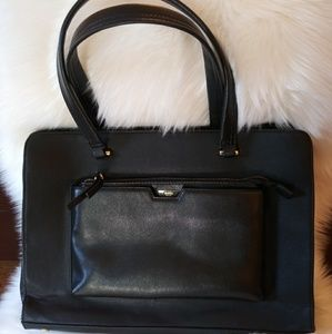 Tutilo New York tote with laptop compartment